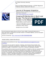 RENNER--Creeping EU Membership in Southeast Europe