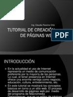 tutorial crear páginas web