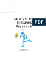 Motivation Theories Description and Criticism