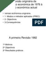 Da Versao Origin Aria Da Constituicao Economica de 1976-1