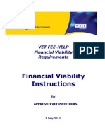 Financial Viability Instructions