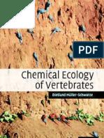 Chemical Ecology of Vertebrates