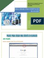 Pasos Para Crear Una Cuenta en Blogger