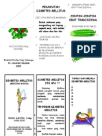 Diabetes Melitus Leaflet YENNY