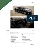 Summary Lexus Es 2012