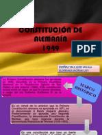 CONTITUCIÓN DE ALEMANÍA....