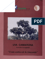 Cultivo de La Uva Caimarona