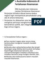Perjanjian Australia-Indonesia Di Bidang an Keamanan
