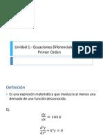 Clase 1.- 1.1 ECDIF -Teoria Preliminar