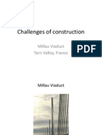 Challenges of Construction Millau Viaduct