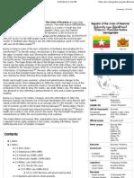 Burma - Wikipedia, The Free Encyclopedia