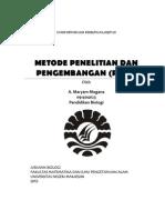 Paper Penelitian R & D