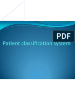 Patient Classification System