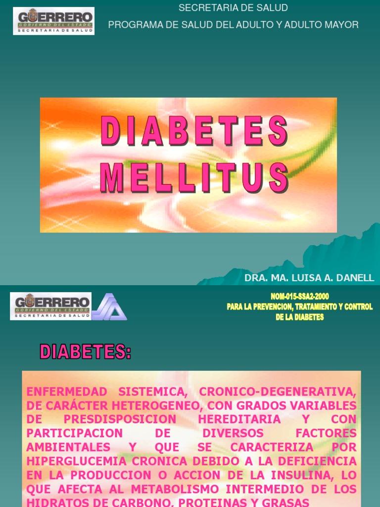 presentaciones de powerpoint sobre el tratamiento de la diabetes