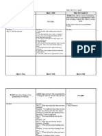 Storyboard for Video Production