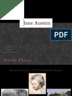 Jane Austen Reaserch Project