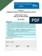 UCB Assignment June 2012 - Final