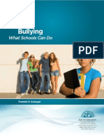 Bullying White Paper by Franklin Schargel