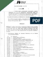 Resolucion Grancontribuyente COLSOF SA