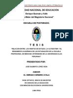 Tesis Maestria Habitos de Estudio Autoestima y Rendimiento Academico Jose Gilberto Lopez Vega