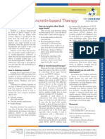 Diabetes and Incretin-Based Therapy
