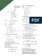 Fourth Exam LAPLACE - Notes