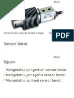 Sensor Berat