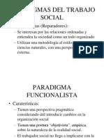 Paradigm As Positivista y Funcionalista