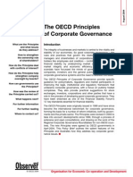 OECD Principles of Corporate Governance - Policy Brief