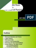 Palvinder Kaur v. State of Punjab