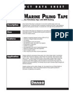 Denso Marine Piling Tape