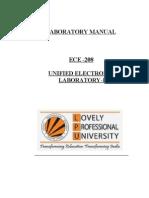 ECE Lab Manual