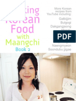 Cooking Korean Food With Maangchi Cookbook - Book 2 (revised 2nd edition)