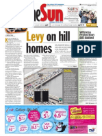 TheSun 2008-12-17 Page01 Levy on Hill Homes