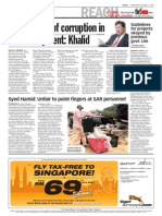 TheSun 2008-12-17 Page04 I Need Proof of Corruption in Hill Development Khalid