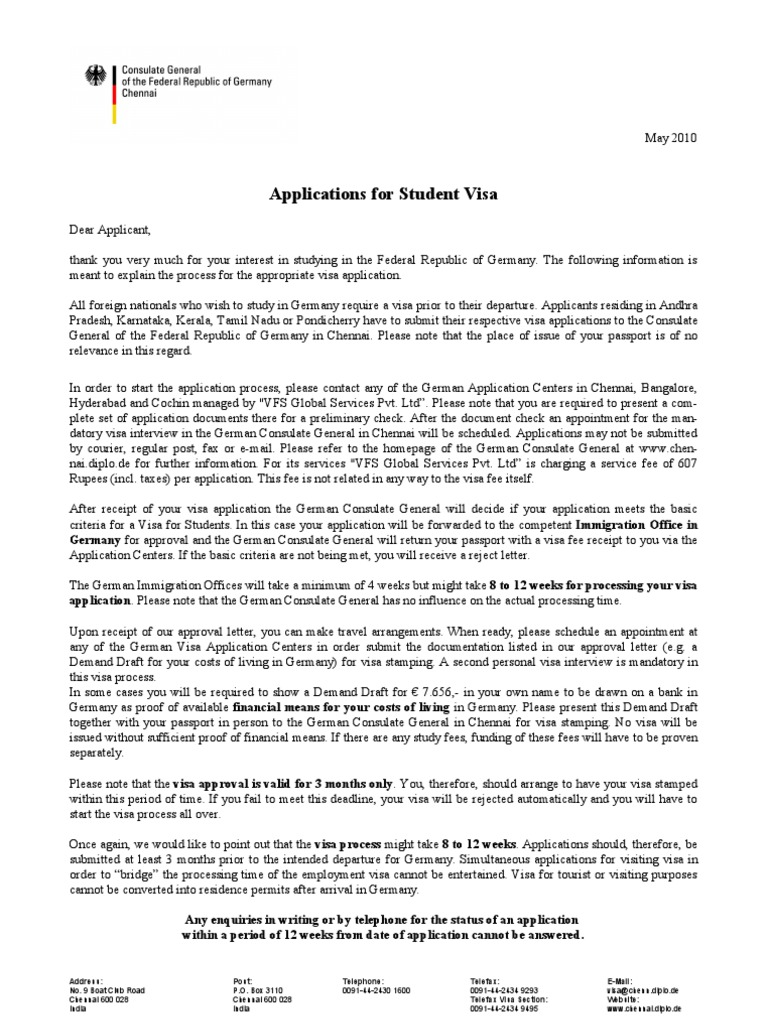 Cover letter for student visa application germany coursework cover letter for student visa application germany thecheapjerseys Image collections