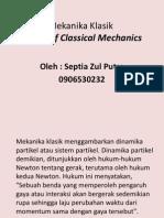 mekanika klasik