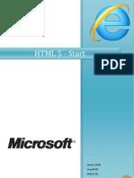 HTML 5 - Start