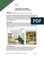 Ergonomics Case Study Cleaning Stations