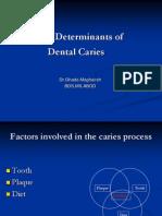 bTime Determinants of Dental Caries
