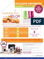 Gold Canyon Candles May Specials
