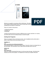 DVD to iPod Guide for Handbrake