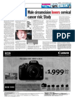 thesun 2008-12-19 page18 male circumcision lowers cervical cancer risk study