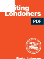 Boris Johnson Uniting Londoners 2012