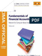 CIMA Financial Accounting