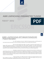 AMR Unpacking Parameter Fine Tunning Final Presentation