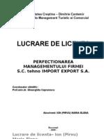 Lucrare Diploma Management