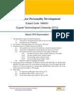 Sample Ques Set 2.1 CPD GTU