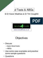 Arterial Blood Estimation