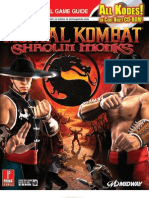 Mortal Kombat Shaolin Monks - Official Guide